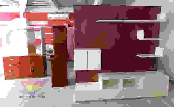 Mueble multifuncional de camas y literas infantiles kids world Moderno