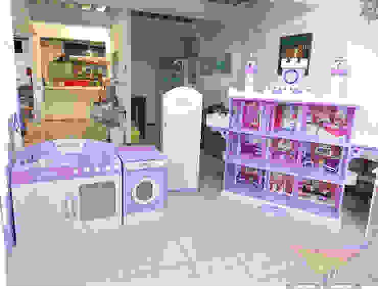 Castillito de muñecas y cocinita de camas y literas infantiles kids world Clásico