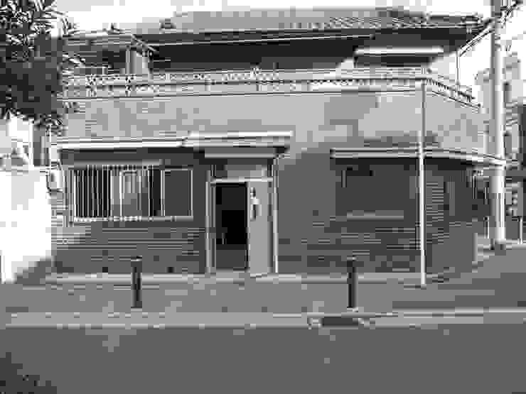 着工前外観: 株式会社 藤本高志建築設計事務所が手掛けた現代のです。,モダン