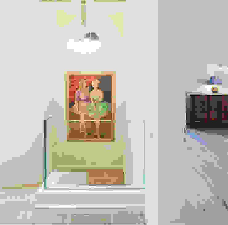 Canton De Vaud, Switzerland Rustic style corridor, hallway & stairs by Ardesia Design Rustic