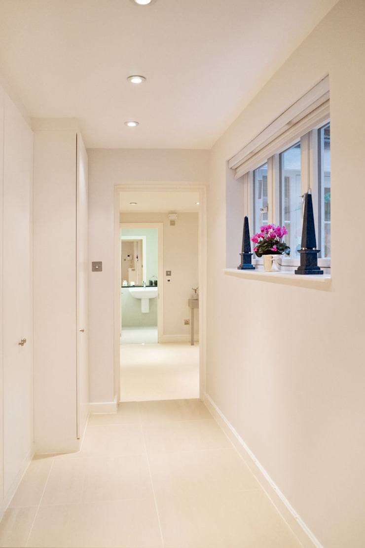 Shawfield Street Ardesia Design Classic corridor, hallway & stairs