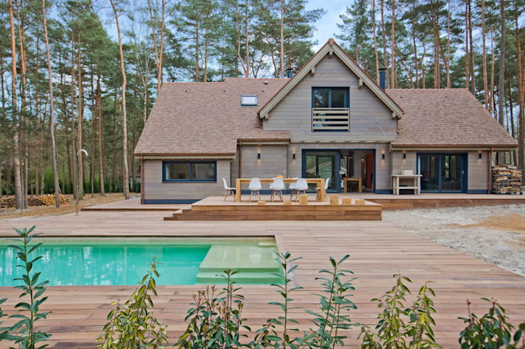 Casas modernas por blackStones Moderno