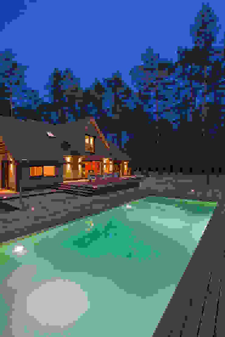 Modern pool by blackStones Modern