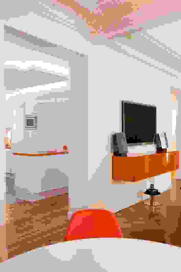 Appartement 140m² Salon original par blackStones Éclectique