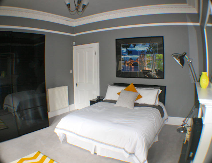 After Modern style bedroom by Isolution Interiors Modern