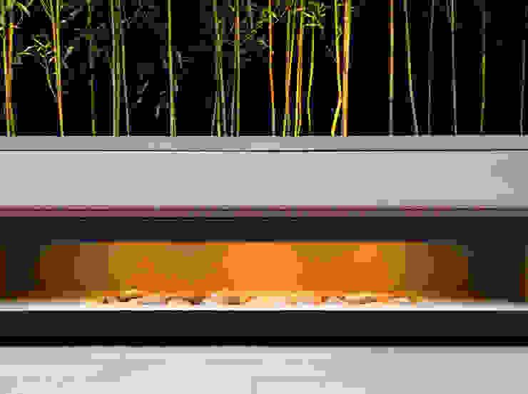 Aperture bench Jardin moderne par MyLandscapes Garden Design Moderne