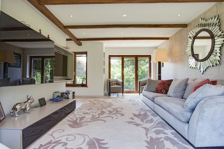 Sitting Room Eclectic style living room by Stunning Spaces Ltd Eclectic