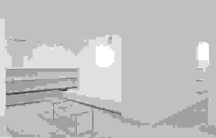 Blendage gallery store Negozi & Locali commerciali in stile minimalista di beatrice pierallini Minimalista