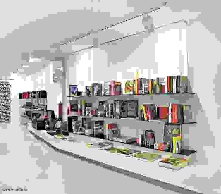 Blendage gallery store Negozi & Locali commerciali moderni di beatrice pierallini Moderno