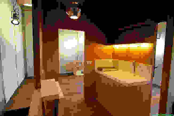 Scintilla Gallery Negozi & Locali commerciali moderni di laboratorio di architettura - gianfranco mangiarotti Moderno