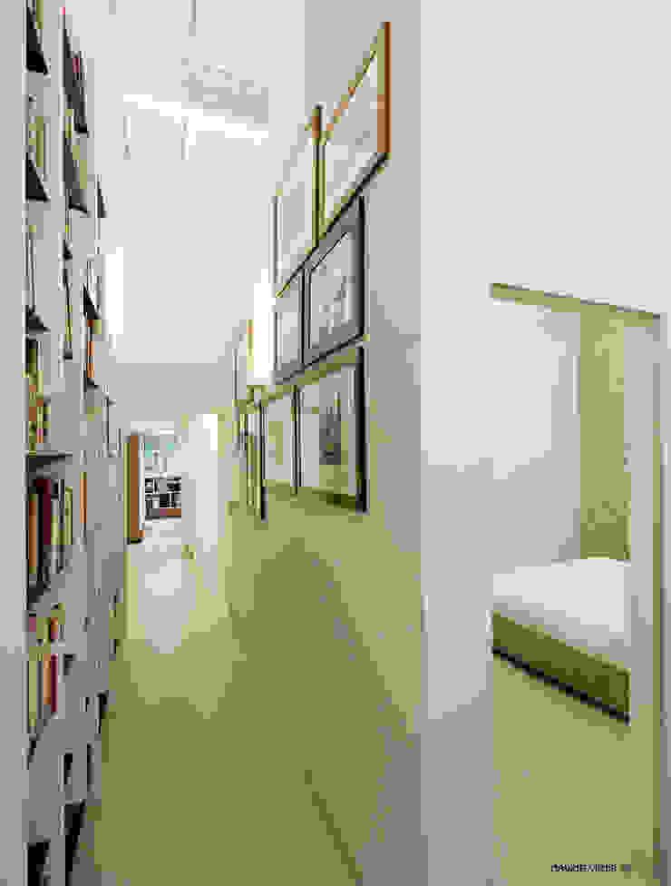Appartamento in centro a Firenze Ingresso, Corridoio & Scale in stile eclettico di beatrice pierallini Eclettico