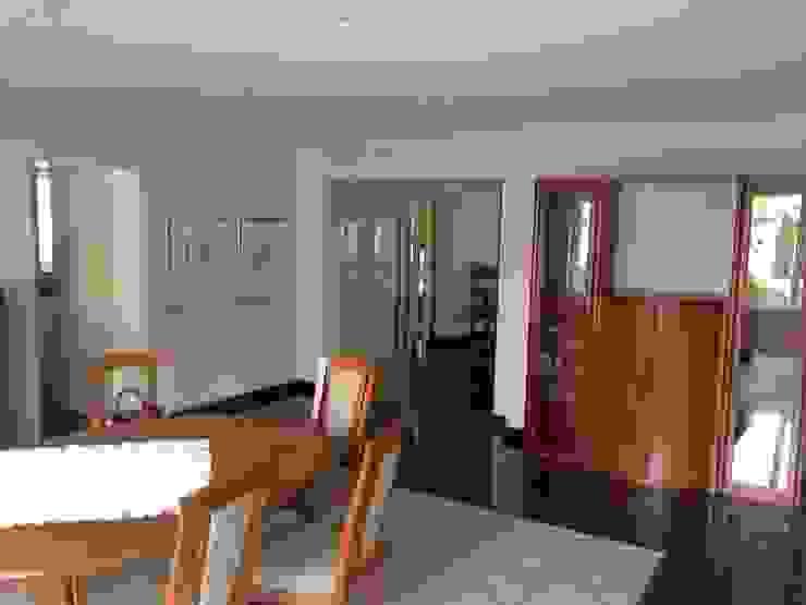 Esszimmer VORHER Moderne Esszimmer von HomeStagingDE Modern