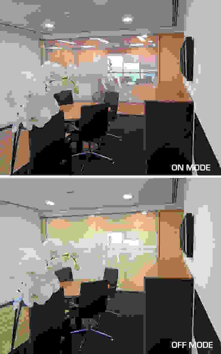 Oficinas centrales Intercomet Group Dubai Edificios de oficinas de estilo ecléctico de Vidrios de privacidad Ecléctico