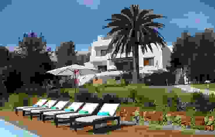 Ibiza Villa Mediterrane Häuser von Lime Lace Eclectic Interiors Mediterran