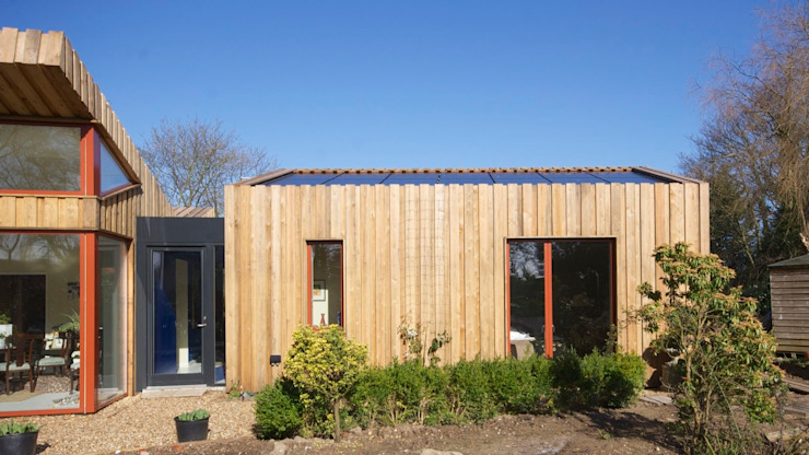 Pond House_Passive House (Passivhaus) Modern houses by Forrester Architects Modern