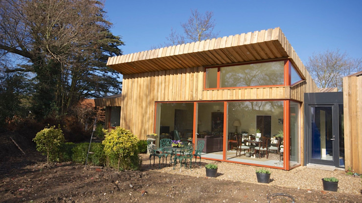 Pond House_Passive House (Passivhaus) Forrester Architects منازل