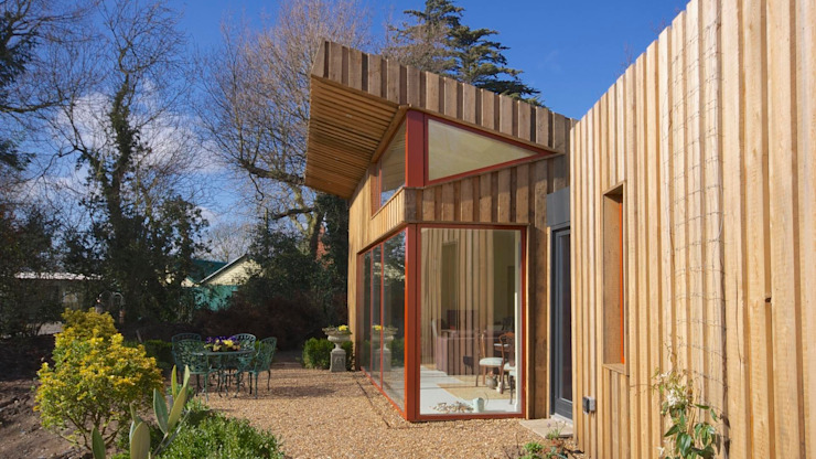 Pond House_Passive House (Passivhaus) Modern Windows and Doors by Forrester Architects Modern