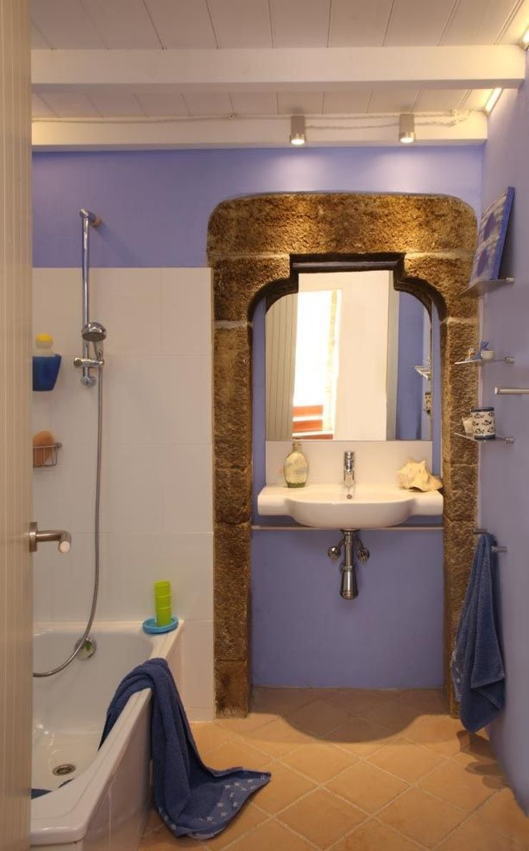 Iluminación baño de OutSide Tech Light Rústico