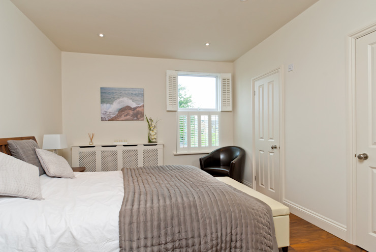 Double side dormer Bedroom by A1 Lofts and Extensions