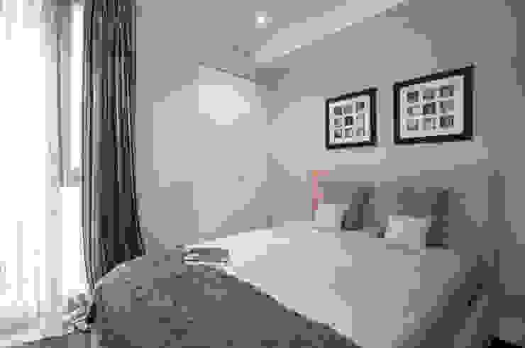 Guest Bedroom Modern Bedroom by STUDIO[01] LTD Modern