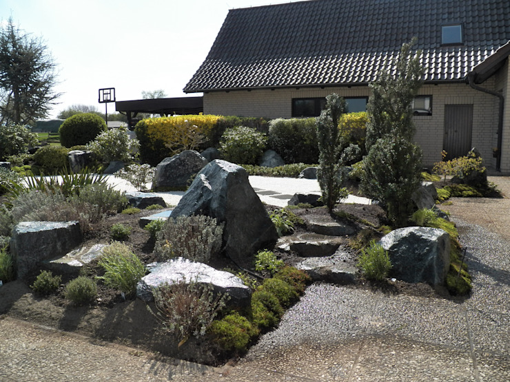 Kokeniwa Japanische Gartengestaltung Taman Gaya Asia