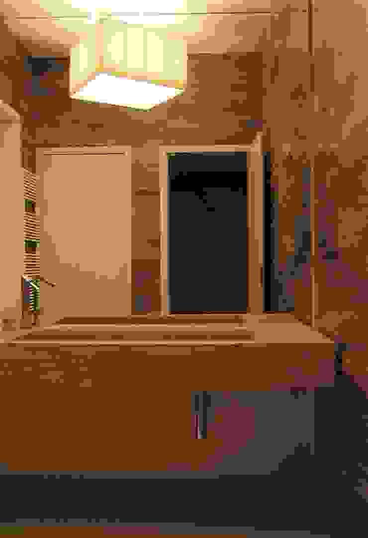 bagno Spa moderna di studiooxi Moderno
