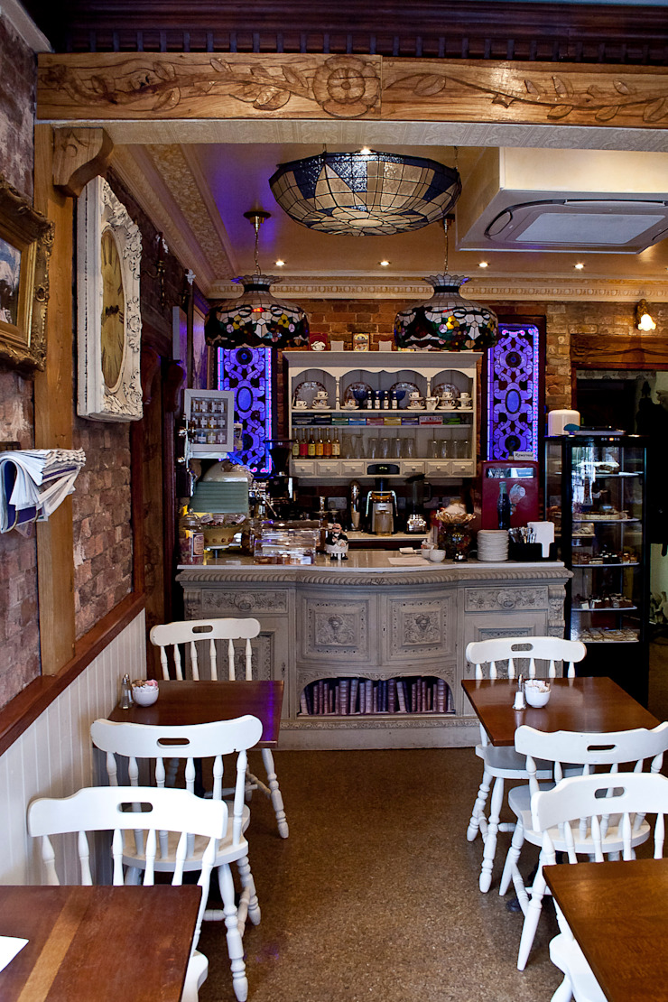 Café 57 Eclectic style gastronomy by RS Architects Eclectic