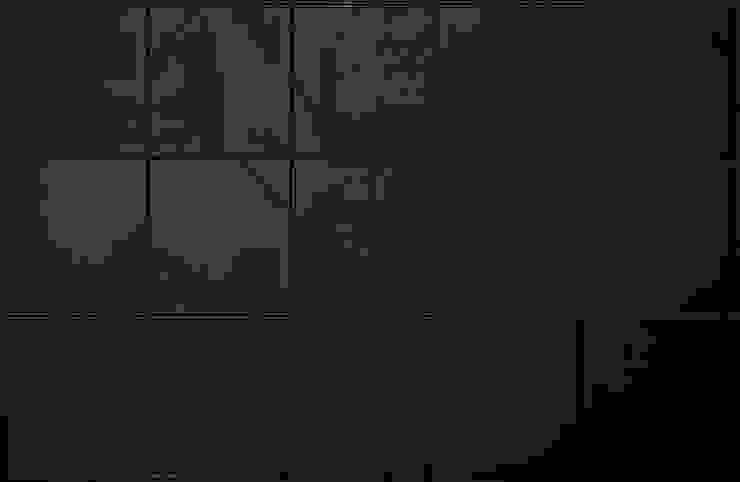 Black Hotel_tiles Hotel in stile minimalista di laboratorio di architettura - gianfranco mangiarotti Minimalista