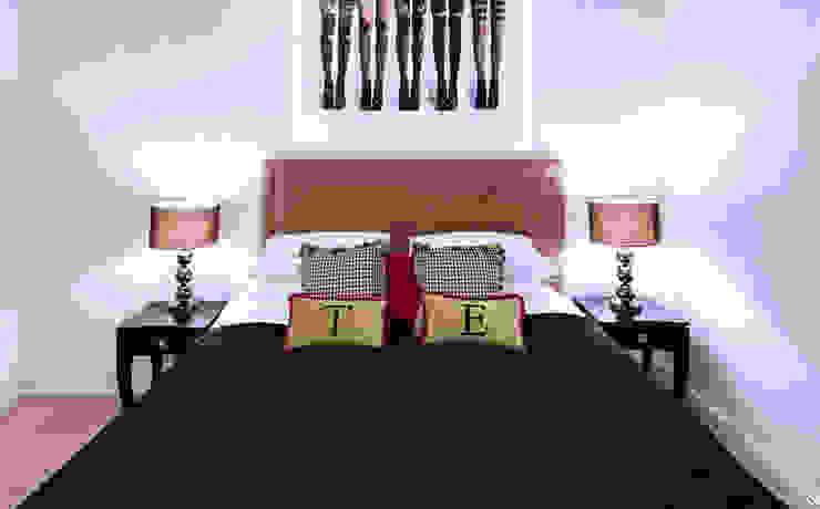 Girl's bedroom / Mayfair, London Moderne slaapkamers van FADI CHERRY | design studio Modern