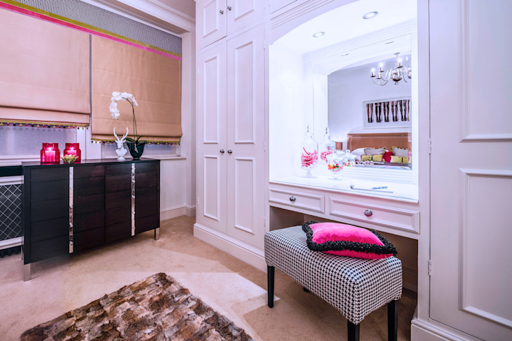 Girl's bedroom / Mayfair, London Moderne Schlafzimmer von FADI CHERRY | design studio Modern
