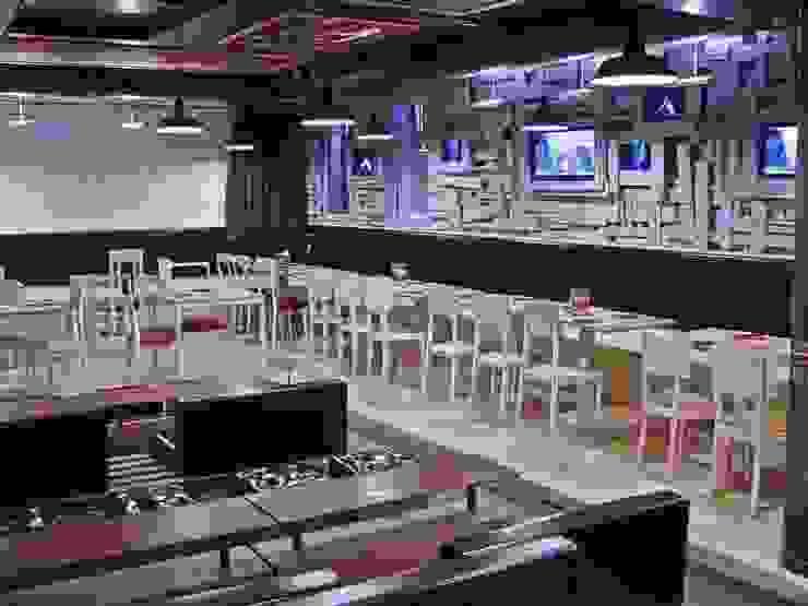 il palco Gastronomia in stile rustico di battistellArchitetti Rustico