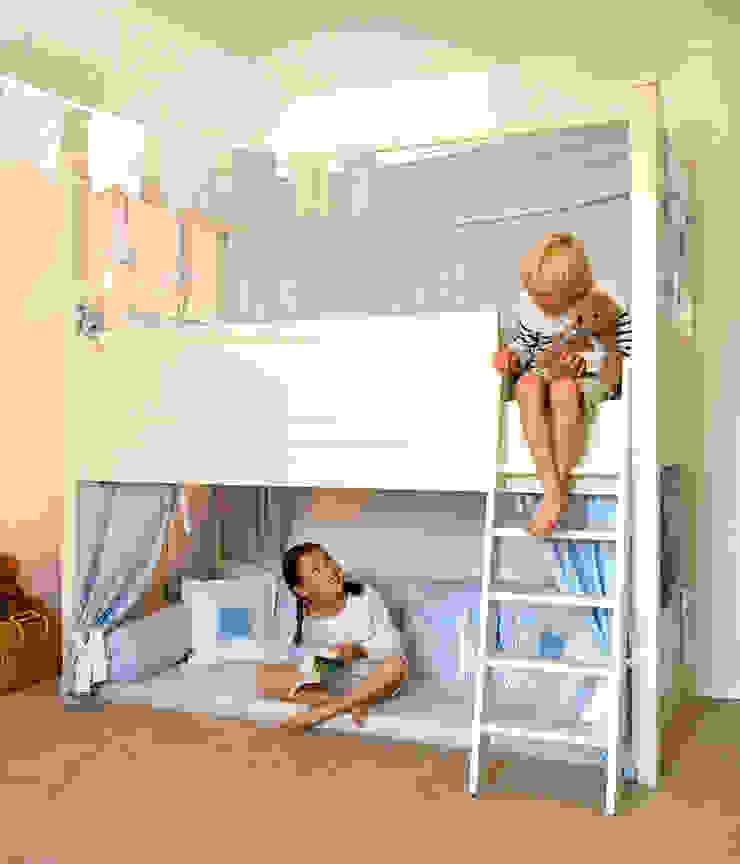 Hochbett JELVA Skandinavische Kinderzimmer von YUYO`s Schöne Kinderzeit Skandinavisch