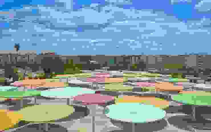 ParedesPino arquitectos Moderner Balkon, Veranda & Terrasse