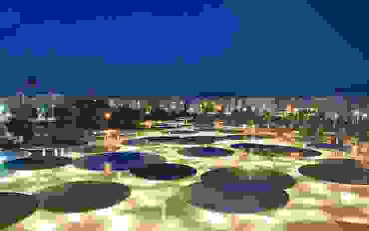 CAAC Cordoba ParedesPino arquitectos Jardines de estilo moderno
