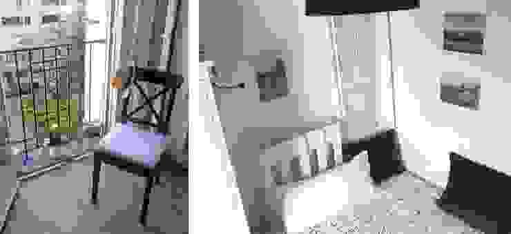 dormitorio en Retiro, Madrid Dormitorios de estilo ecléctico de CarlosSobrinoArquitecto Ecléctico