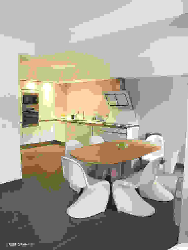 Cucina moderna di INSIDE Création Moderno