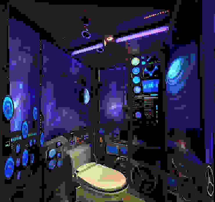 WC et vaisseau spatial par Atelier Frederic Gracia Éclectique