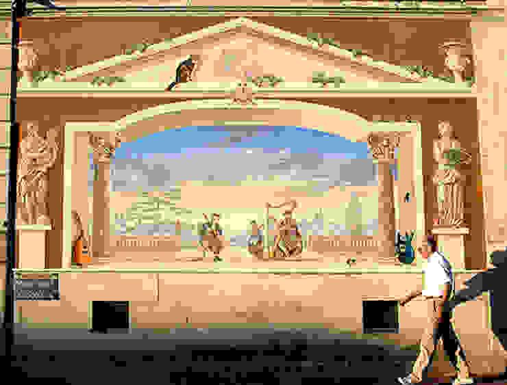 trompe l'oeil Maisons classiques par Atelier Frederic Gracia Classique