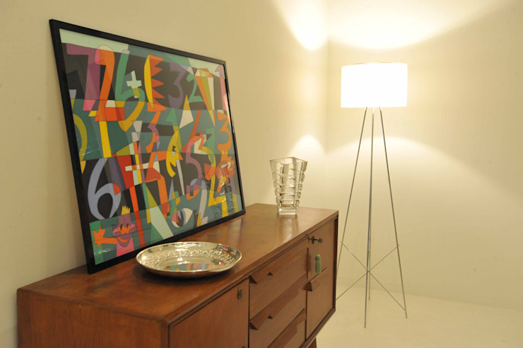 Interior Irsina_MATERA Soggiorno moderno di B+P architetti Moderno