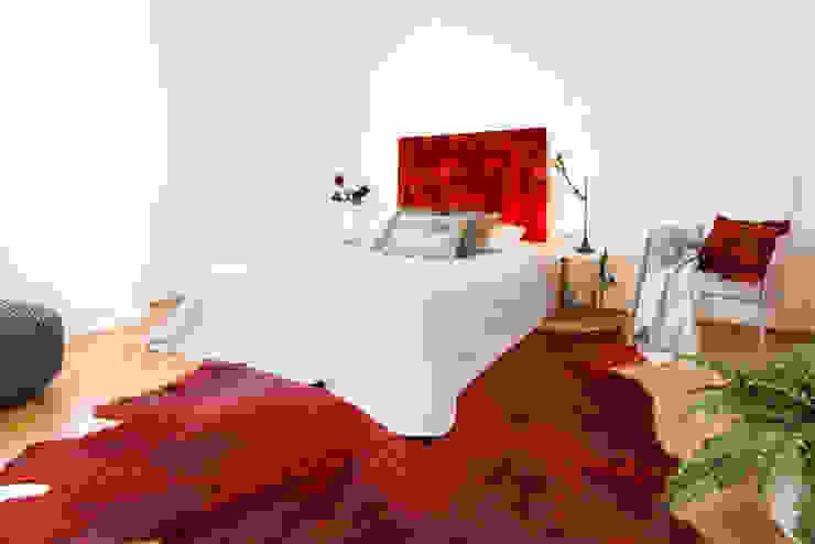 Schlafzimmer nachher Moderne Schlafzimmer von Luna Homestaging Modern