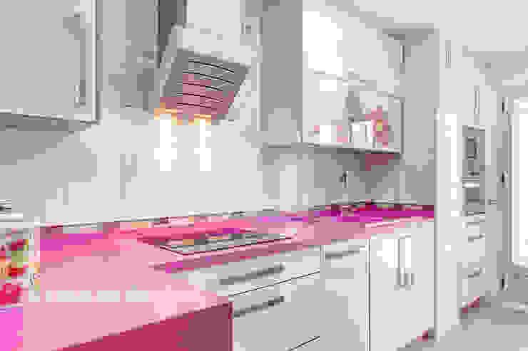 Cocina Cocinas de estilo ecléctico de Espacios y Luz Fotografía Ecléctico