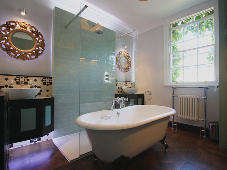 Hoxton Victorian Bathroom Inara Interiors Eclectic style bathroom