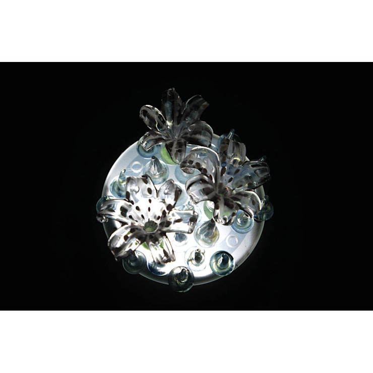 Lilac lily mini figlight downlight chandelier A Flame with Desire Eklektik