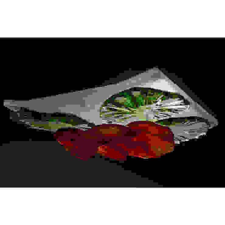 Red flower mini figlight, downlight chandelier A Flame with Desire Eklektik