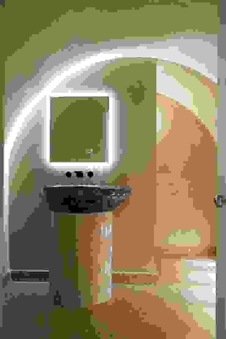 Brooke Street, Frosterley basin Modern Bathroom by Britannicus Stone Modern