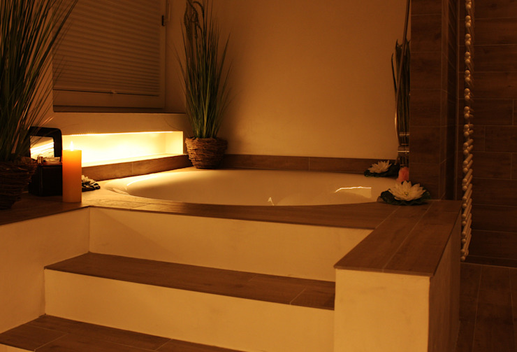 Baños de estilo moderno de baqua - Manufaktur für Bäder Moderno