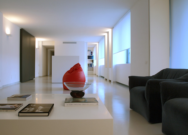 Casas de estilo  por SERGIO PASCOLO ARCHITECTS, Minimalista