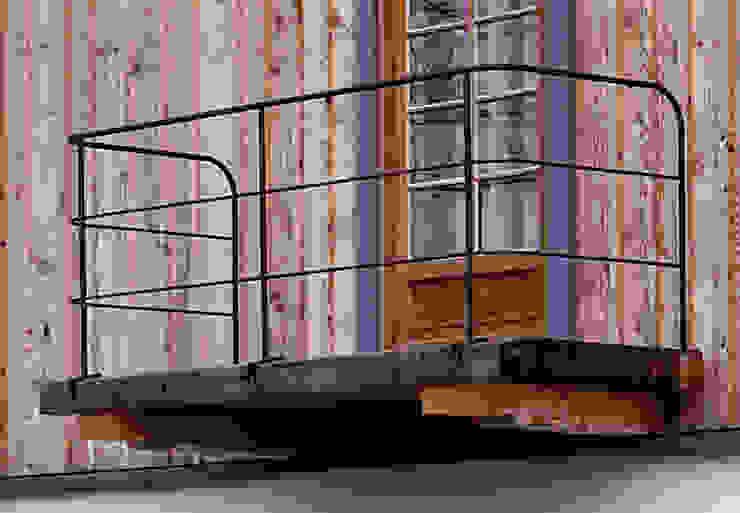 Balkon von Gabriele Riesner Architektin Rustikal