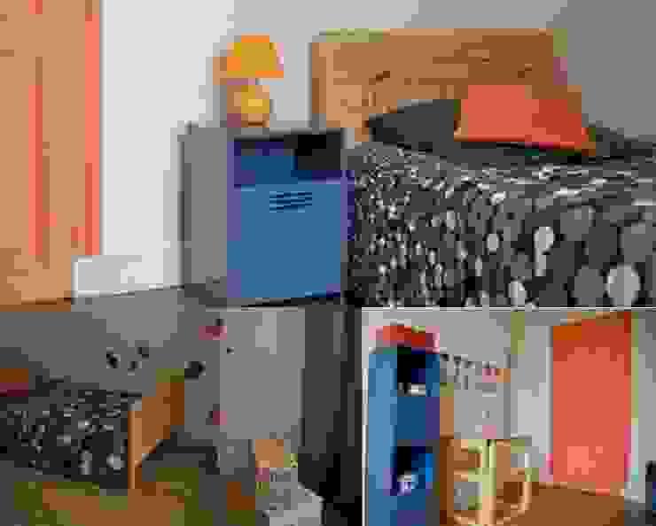 Chambre garçon appartement haussmannien Chambre d'enfant originale par PATRICIA FRANCOIS Éclectique