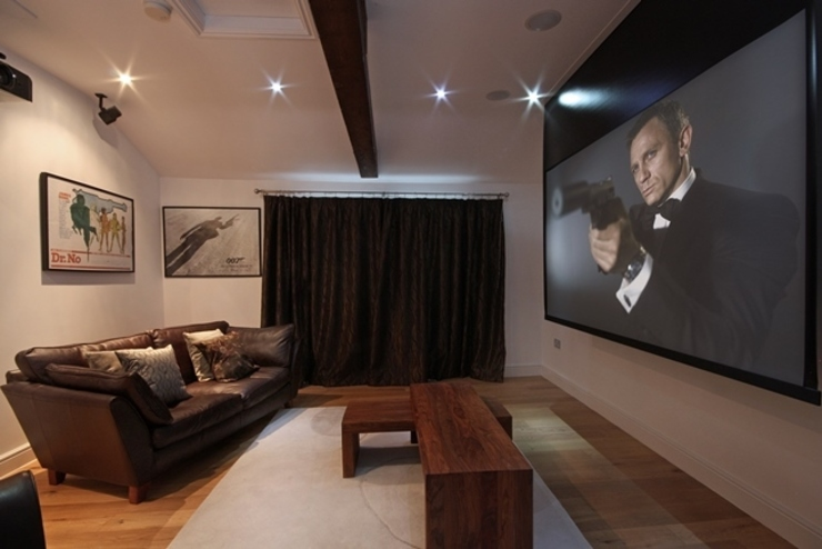 Cinema Room Media Room by Inspire Audio Visual